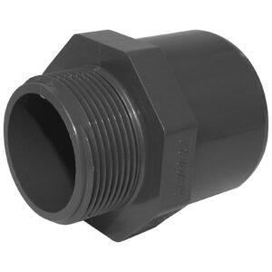 pool pipe bsp male to plain socket