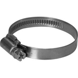 Flexible pipe jubilee clips